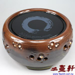 台灣風清堂「鶯歌燒」微晶光波電陶爐「永恆」