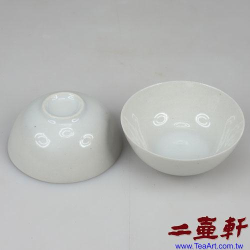 民國初期白瓷蛋殼杯,工夫茶杯