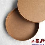 原色牛皮紙圓茶盒,七子餅普洱茶圓形紙盒,普洱茶樣版盒