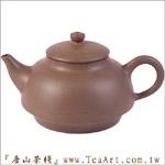 宜興紫砂壺-青灰合碗壺