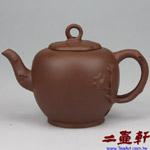 紫玉蘭壺,80年代宜興老一廠紫砂壺,早期老壺
