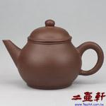 紫大芭樂壺,80年代宜興老一廠紫砂壺,早期老壺