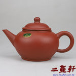 綠標內紫外紅水平六杯,早期中國宜興一廠原礦紫砂壺